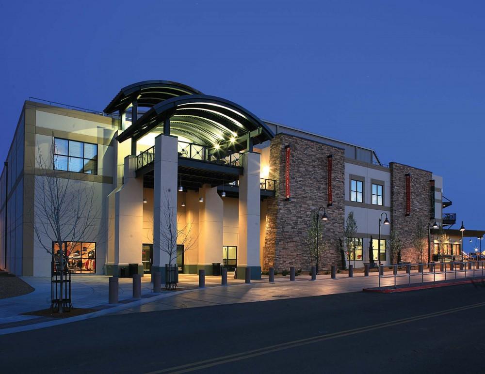 Exterior Of The Prescott Valley Event Center At Night.